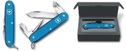 COUTEAU VICTORINOX PIONEER ALOX EDITION LIMITED 2020 - AQUA BLUE