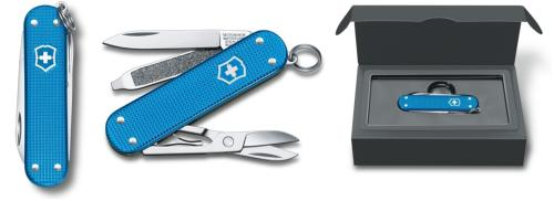 COUTEAU VICTORINOX CLASSIC ALOX EDITION LIMITED 2020 - AQUA BLUE