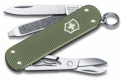 COUTEAU VICTORINOX CLASSIC ALOX EDITION LIMITED 2017 - VERT OLIVE