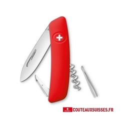 COUTEAU SUISSE SWIZA D01 - ROUGE
