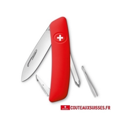 COUTEAU SUISSE SWIZA D02 - ROUGE