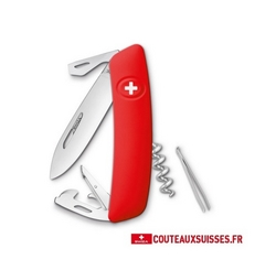 COUTEAU SUISSE SWIZA D03 - ROUGE