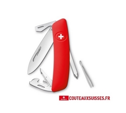 COUTEAU SUISSE SWIZA D04 - ROUGE