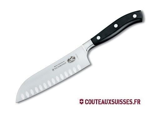 couteau santoku 17 cm victorinox grand ma tre. Black Bedroom Furniture Sets. Home Design Ideas